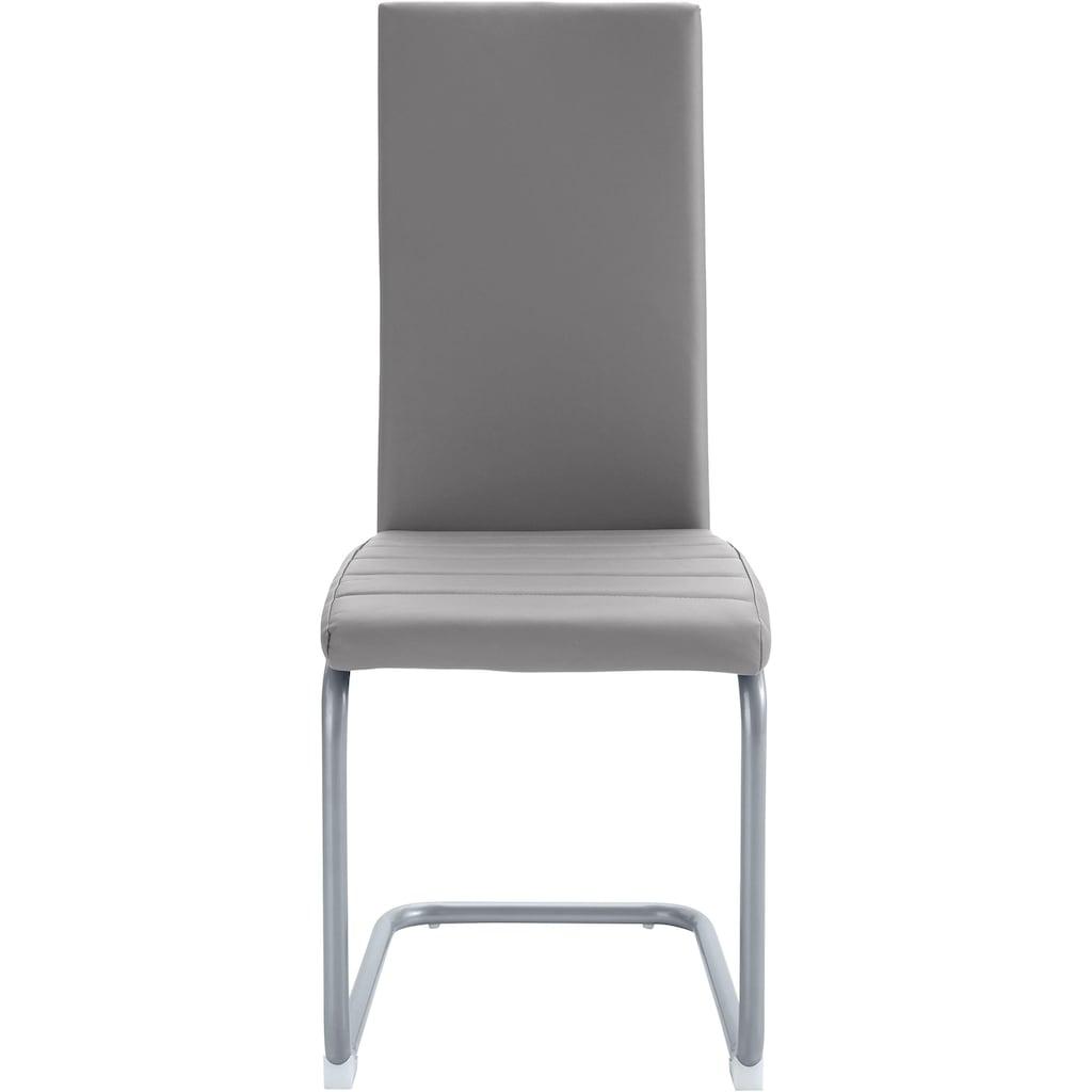Homexperts Esszimmerstuhl »Nitro«, (2 oder 6 Stück), Bezug in Kunstleder