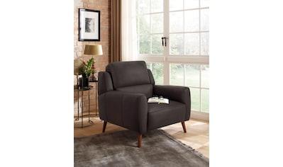 Home affaire Sessel »Alibis«, in zwei Bezugsqualitäten kaufen