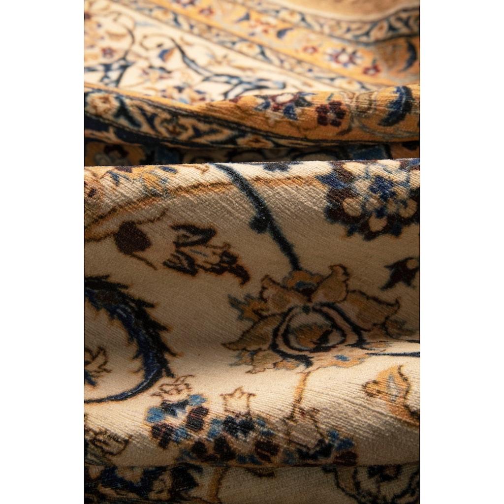 Home affaire Teppich »Luca«, rechteckig, 4 mm Höhe, Druck-Teppich, waschbar, Orient-Optik, Wohnzimmer