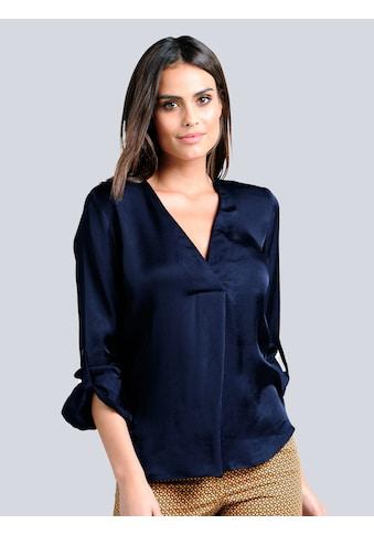 Alba Moda Bluse mit leichtem Glanz kaufen