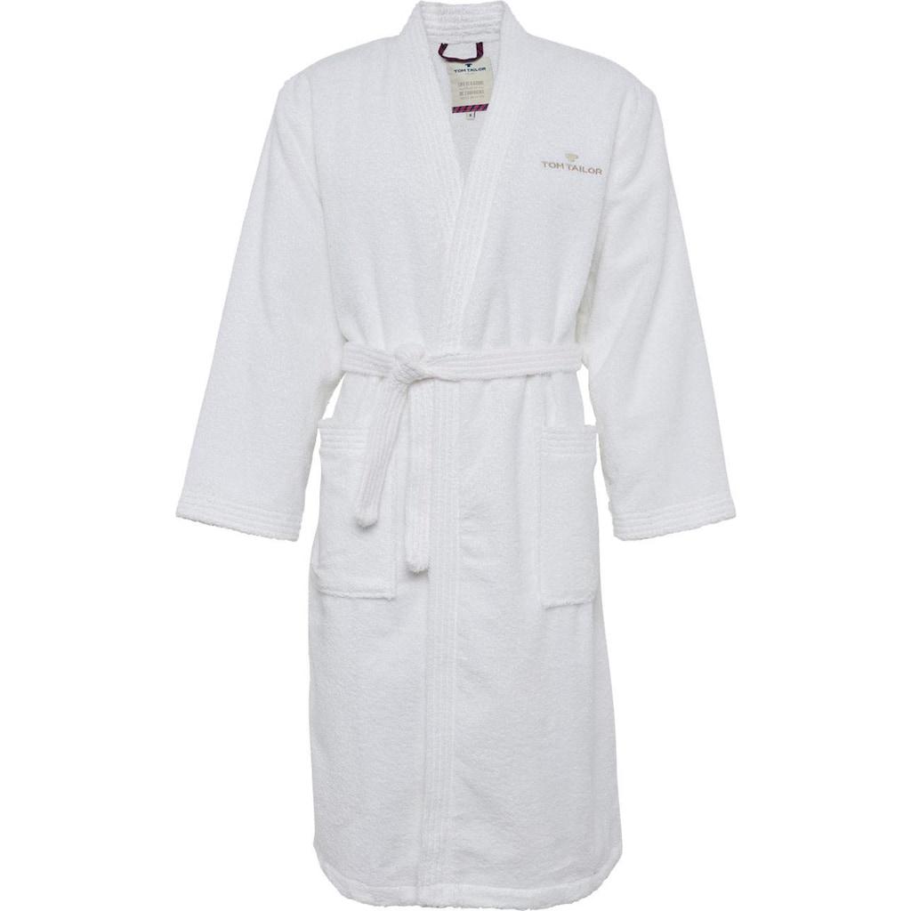 Unisex-Bademantel »Kimono«, TOM TAILOR