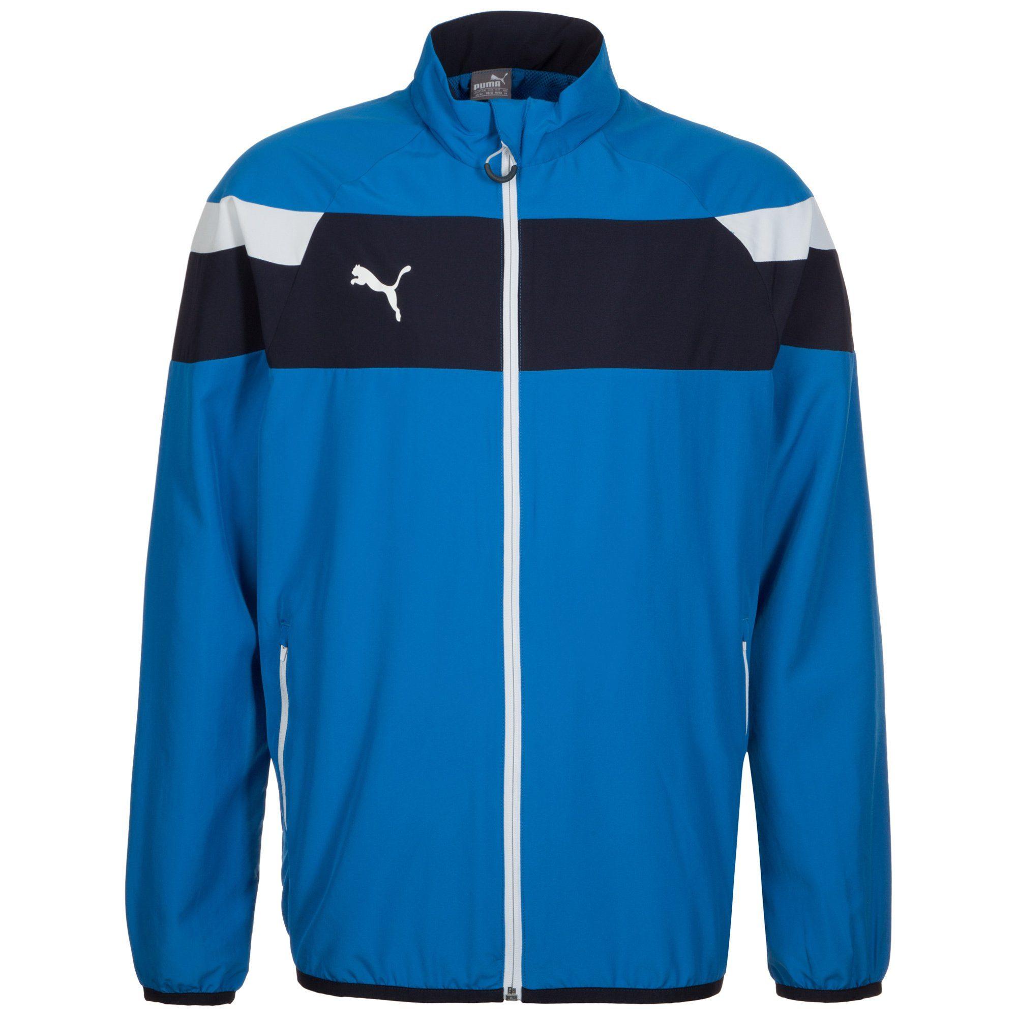 PUMA Trainingsjacke »Spirit Ii Woven«   Sportbekleidung > Sportjacken > Trainingsjacken   Blau   Puma