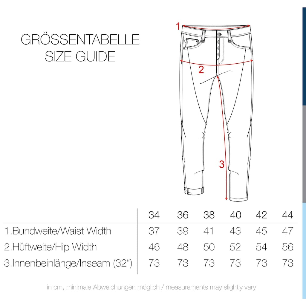 DESIRES Straight-Jeans »Elbja«, Denim Hose Loose Fit