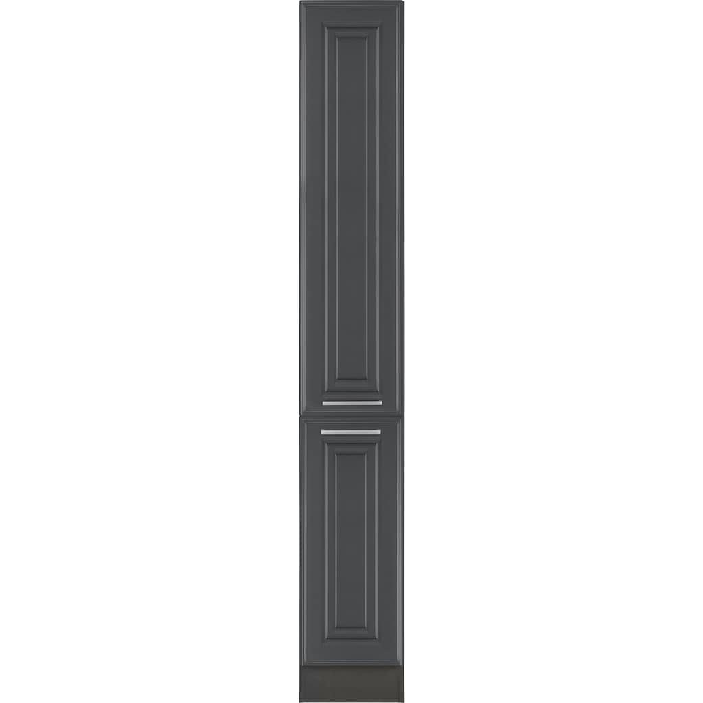 HELD MÖBEL Apothekerschrank »Stockholm, Breite 30 cm«, hochwertige MDF-Fronten, 200 cm hoch, viel Stauraum