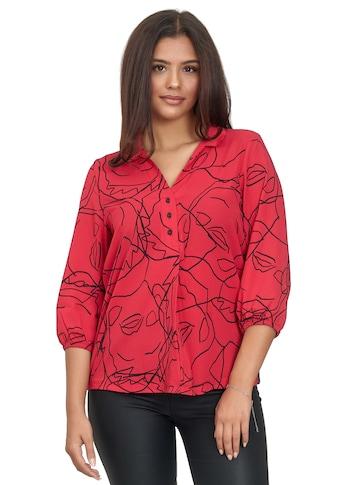 Decay Klassische Bluse, mit Seitenstreifen und halblangen Ärmeln kaufen