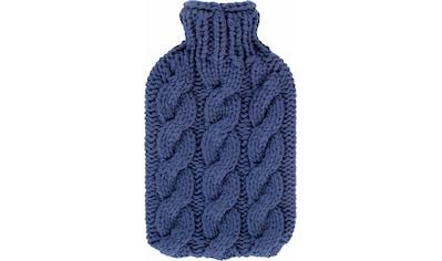 Fashy Wärmflasche »67353 50«, mit Zopfdesign kaufen
