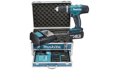 MAKITA Akku - Schlagbohrschrauber »DHP453RFX2«, 18 V, 3 Ah, 42 Nm, inkl. 2 Akku und Ladegerät kaufen