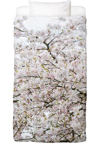 Bettwäsche »Blossom White 2«, Juniqe kaufen