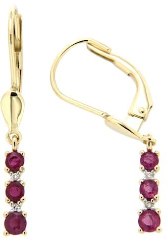 Firetti Paar Ohrhänger »elegant«, mit Rubinen und Brillanten kaufen
