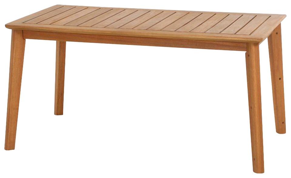 SIENA GARDEN Gartentisch Narona Eukalyptus 150x80 cm