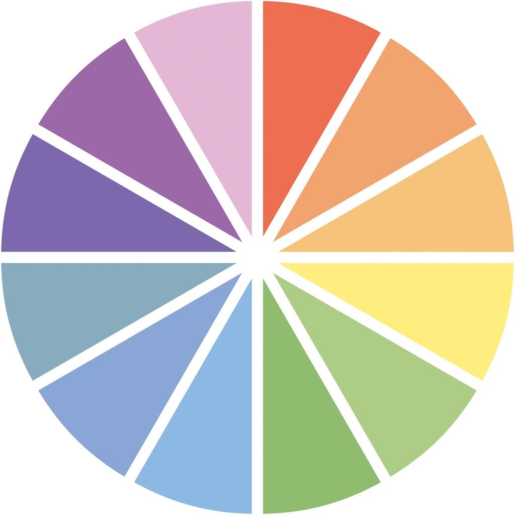MediaShop LED Wandleuchte »HANDY Lux«, LED-Board, 10 St., Farbwechsler, Set mit 10 Lampen und Fernbedienung, Farbwechsel, Kabellos, leicht & fexibel einsetzbar, einfache Montage - kein bohren & schrauben
