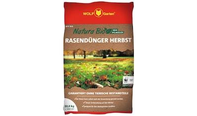 WOLF GARTEN Rasendünger »Natura Bio NR 10,8«, 10,8 kg, für ca. 160 m² kaufen