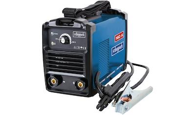 Scheppach Inverterschweißgerät »WSE1100«, mit Schweißschirm, Drahtbürste, Schlackehammer, Elektroden, Tragegurt kaufen