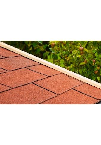 Outdoor Life Products Rechteck - Dachschindeln kaufen