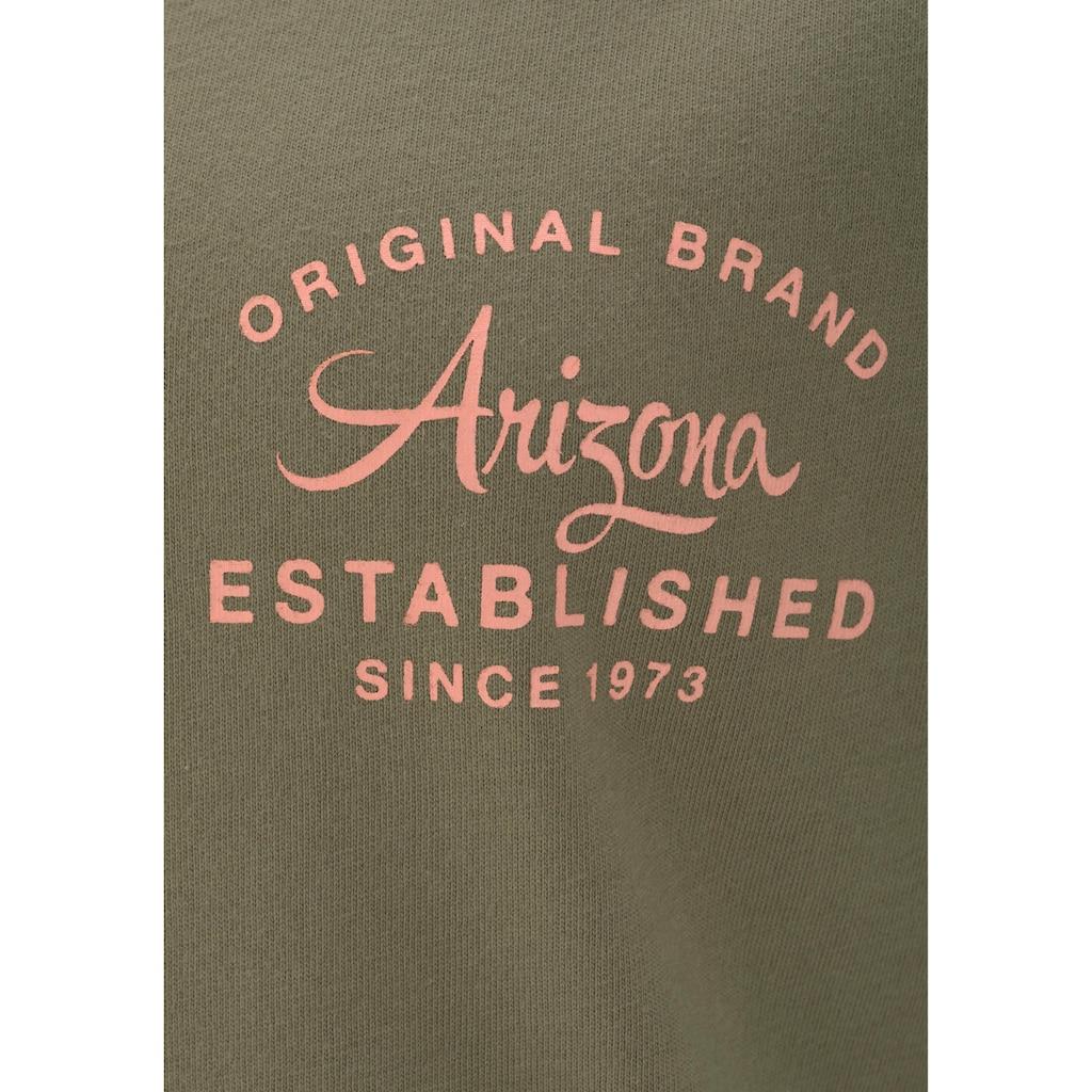 Arizona Shorty, mit Raglanärmeln