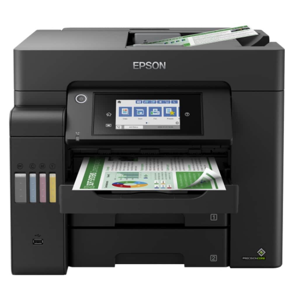 Epson Tintenstrahldrucker »4-in-1-Drucker«, EcoTank ET-5800