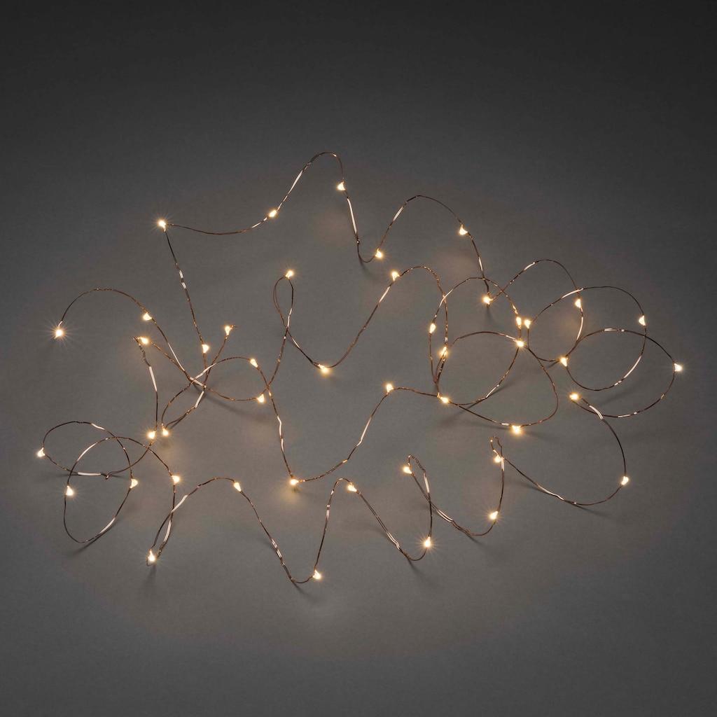 KONSTSMIDE LED Dekolicht, Tropfenlichterkette