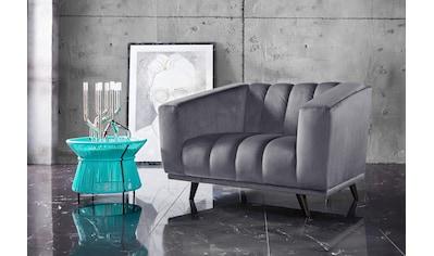 INOSIGN Loveseat »Rimini«, mit ungewöhnlicher Steppung in modernem Design kaufen