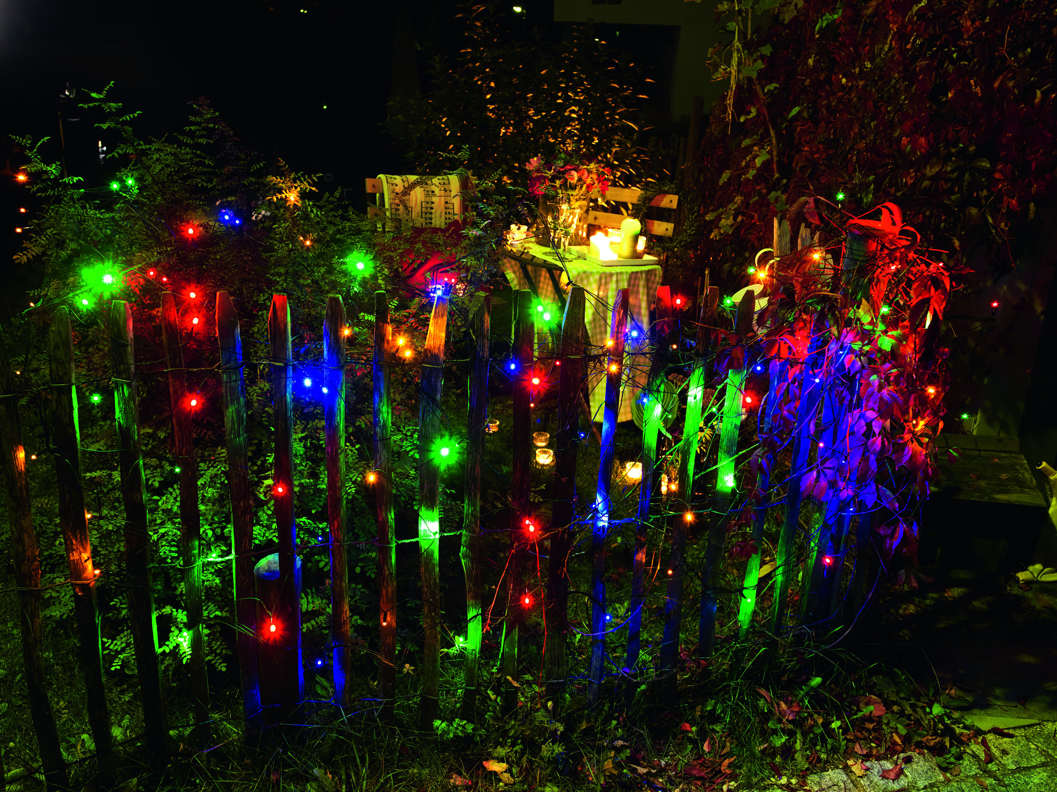 KONSTSMIDE LED-Lichternetz, 120 St.-flammig, LED Lichternetz, 120 bunte Dioden kaufen