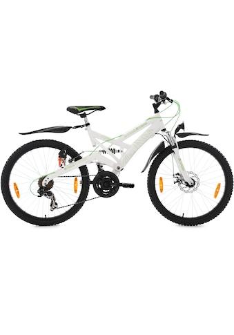 KS Cycling Jugendfahrrad »4Masters«, 21 Gang Shimano Tourney RD - TX 31 Schaltwerk, Kettenschaltung kaufen