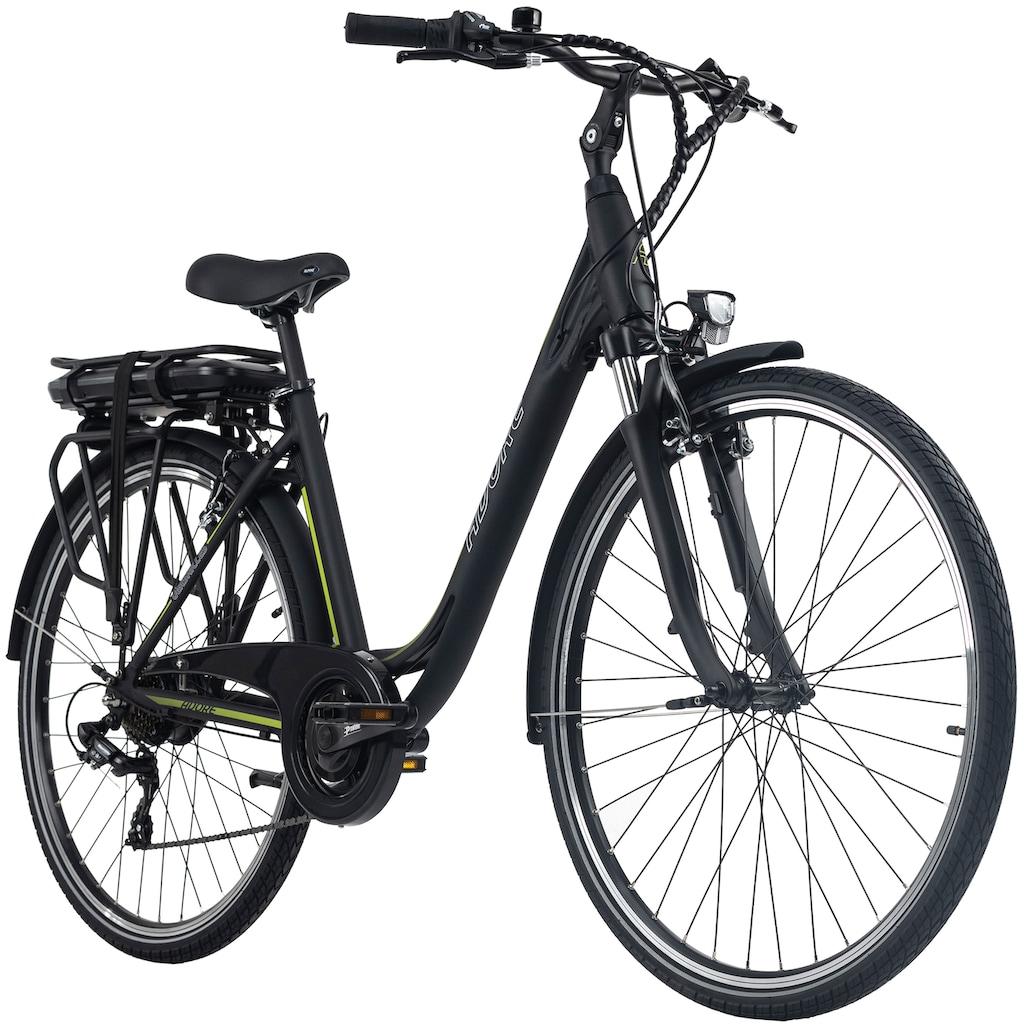 Adore E-Bike »Versailles«, 7 Gang, Shimano, Tourney, Heckmotor 250 W