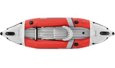 """Intex Einerkajak »Boot """"ExcursionPro Kayak K1"""" Set mit Alu-Paddel + Pumpe«, (Set, 9, mit Luftpumpe) kaufen"""