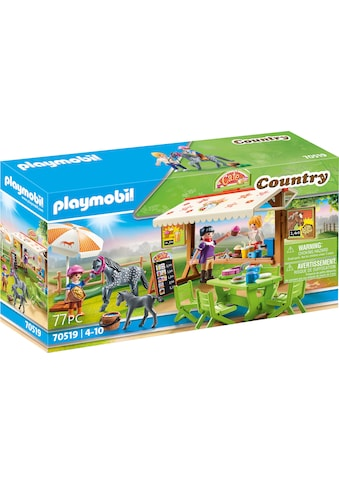 Playmobil® Konstruktions-Spielset »Pony-Café (70519), Country«, (77 St.), Made in Germany kaufen