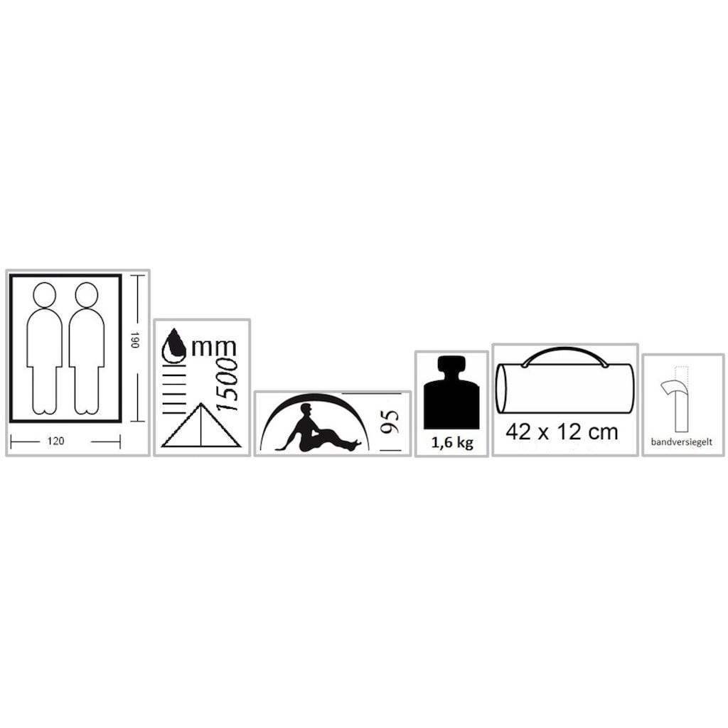 EXPLORER Hauszelt »Minipack 1«, 2 Personen