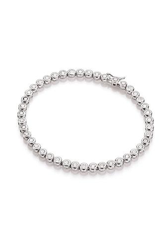Smart Jewel Tennisarmband »klassisch, mit Zirkonia Steine, Silber 925« kaufen