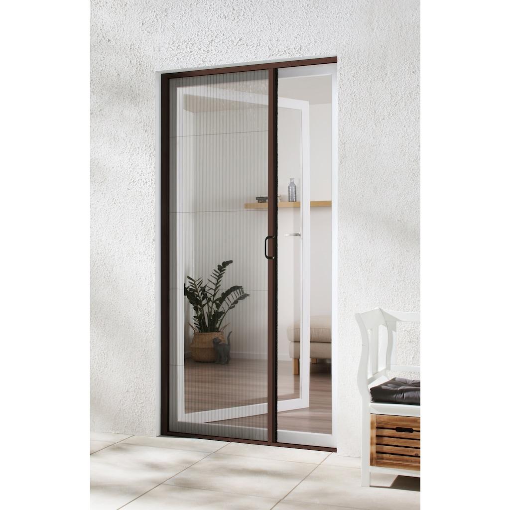 hecht international Insektenschutz-Tür, braun/anthrazit, BxH: 125x220 cm