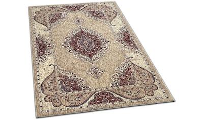 Dreams Teppich »Jaquard Ornament«, rechteckig, 6 mm Höhe, Orient-Optik, Wohnzimmer kaufen