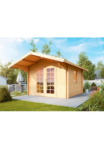 WOLFF FINNHAUS Gartenhaus »Bergen 44 - A«, BxT: 360x395 cm, inkl. Fußboden kaufen