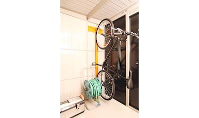 WOLFF FINNHAUS Fahrradhalter für Stahlgerätehaus »Yokohama«, »Sapporo«, »Nagoya«, »Osaka« kaufen