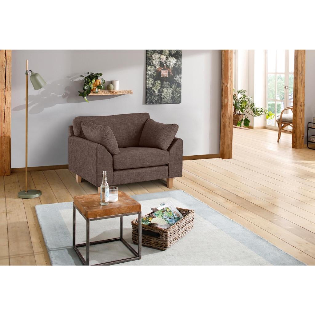 Premium collection by Home affaire Sessel »Garda«, mit Holzfüßen