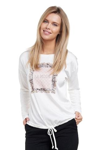 Decay Langarmshirt, mit glänzenden Applikationen kaufen