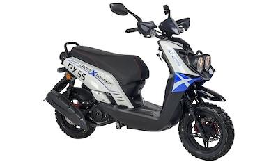 GT UNION Motorroller »PX 55 Cross-Concept«, 125 cm³, 85 km/h, Euro 5, 8,4 PS, EURO 5 kaufen