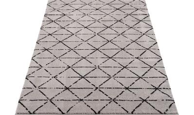 Home affaire Teppich »Jamal«, rechteckig, 12 mm Höhe, Besonders weich durch Microfaser, Wohnzimmer kaufen