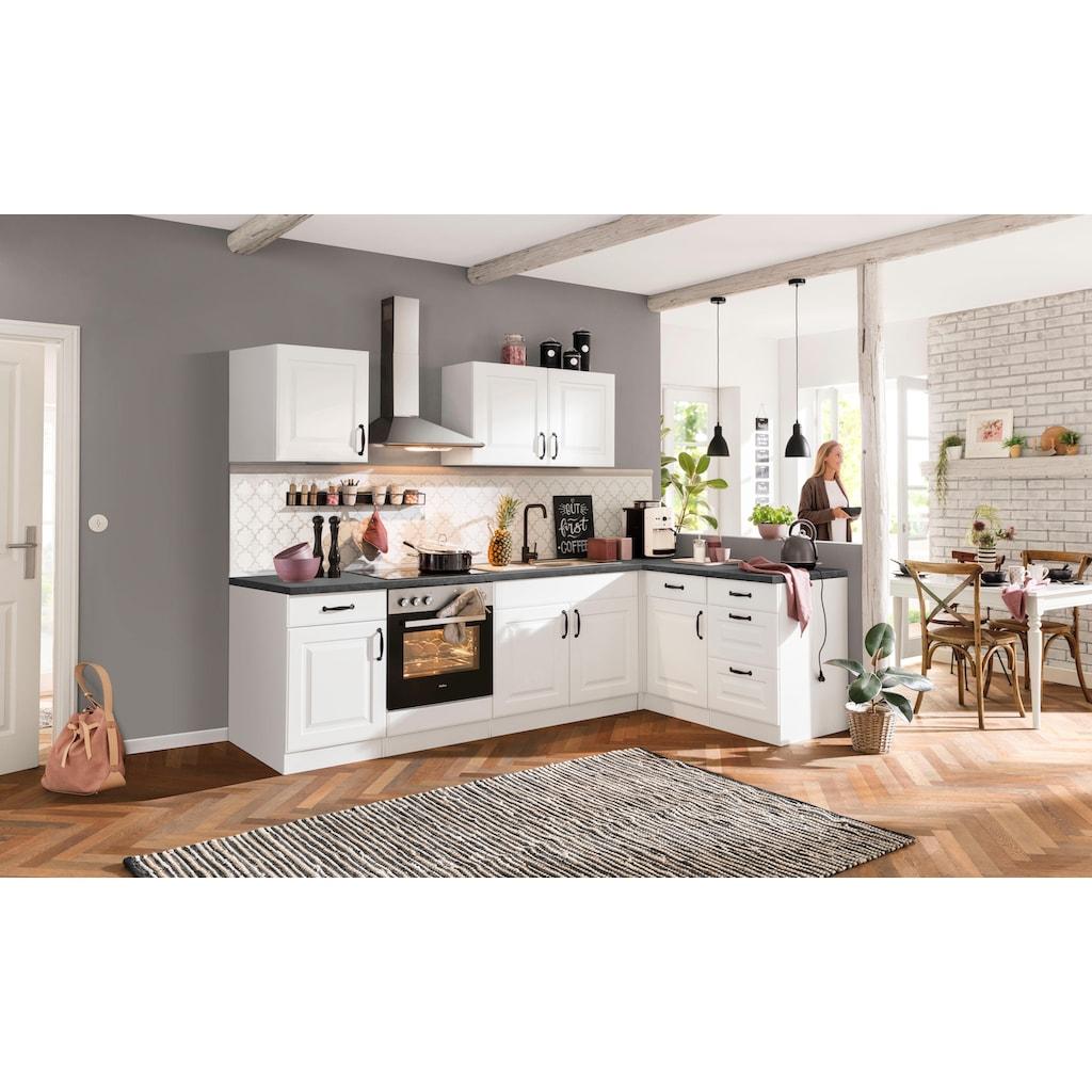 wiho Küchen Küchenzeile »Erla«, ohne E-Geräte, Breite 210 cm