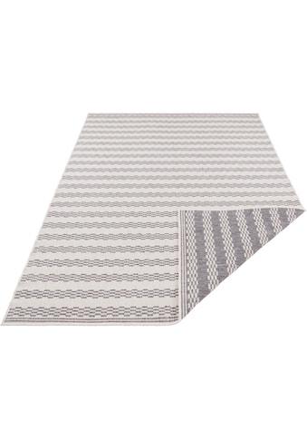 freundin Home Collection Teppich »Oak«, rechteckig, 5 mm Höhe, In- und Outdoor geeignet, Wendeteppich, Wohnzimmer kaufen