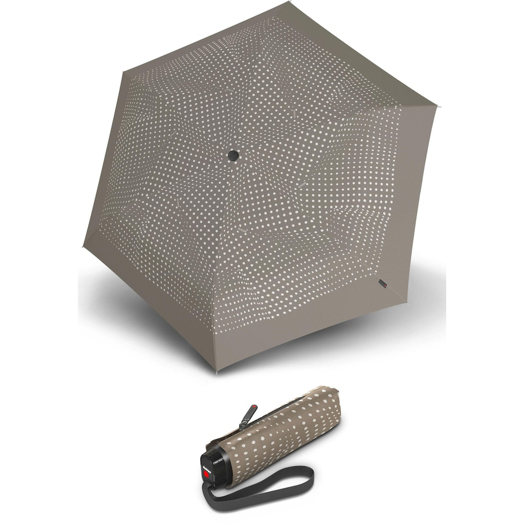 Knirps® Taschenregenschirm »TS.010 Slim Small Manual bolero taupe«