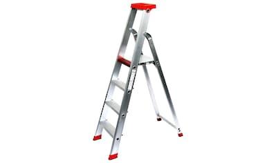 SZ METALL Stehleiter, Aluminium, 3 m, 4-stufig kaufen