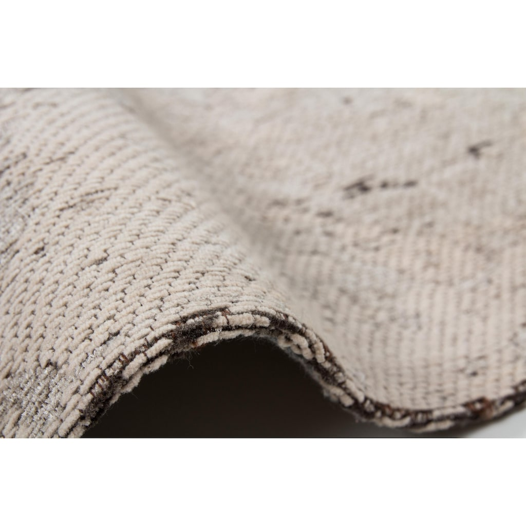 Kayoom Teppich »Nostalgia 285«, rechteckig, 10 mm Höhe, Flachgewebe, Vintage Design, Wohnzimmer