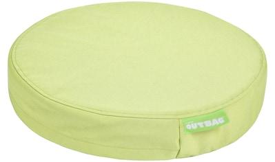 OUTBAG Auflage »Disc pillow PLUS«, wetterfest und robst, für den Außenbereich, Ø: 45 cm kaufen