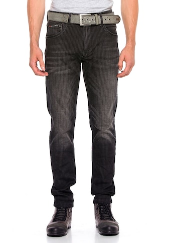 Cipo & Baxx Slim-fit-Jeans, im Slim-Fit Schnitt kaufen