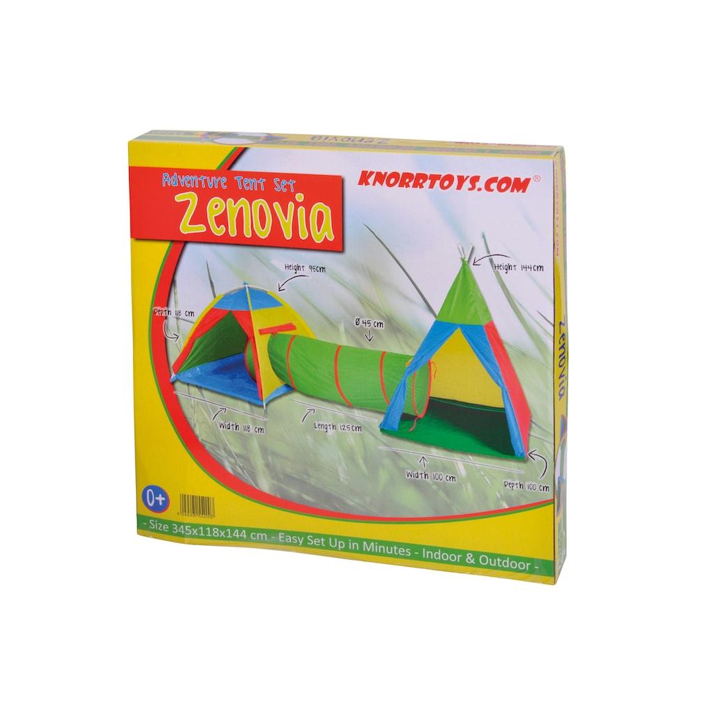 Knorrtoys® Spielzelt »Zeltstadt Zenovia«, mit Spieltunnel