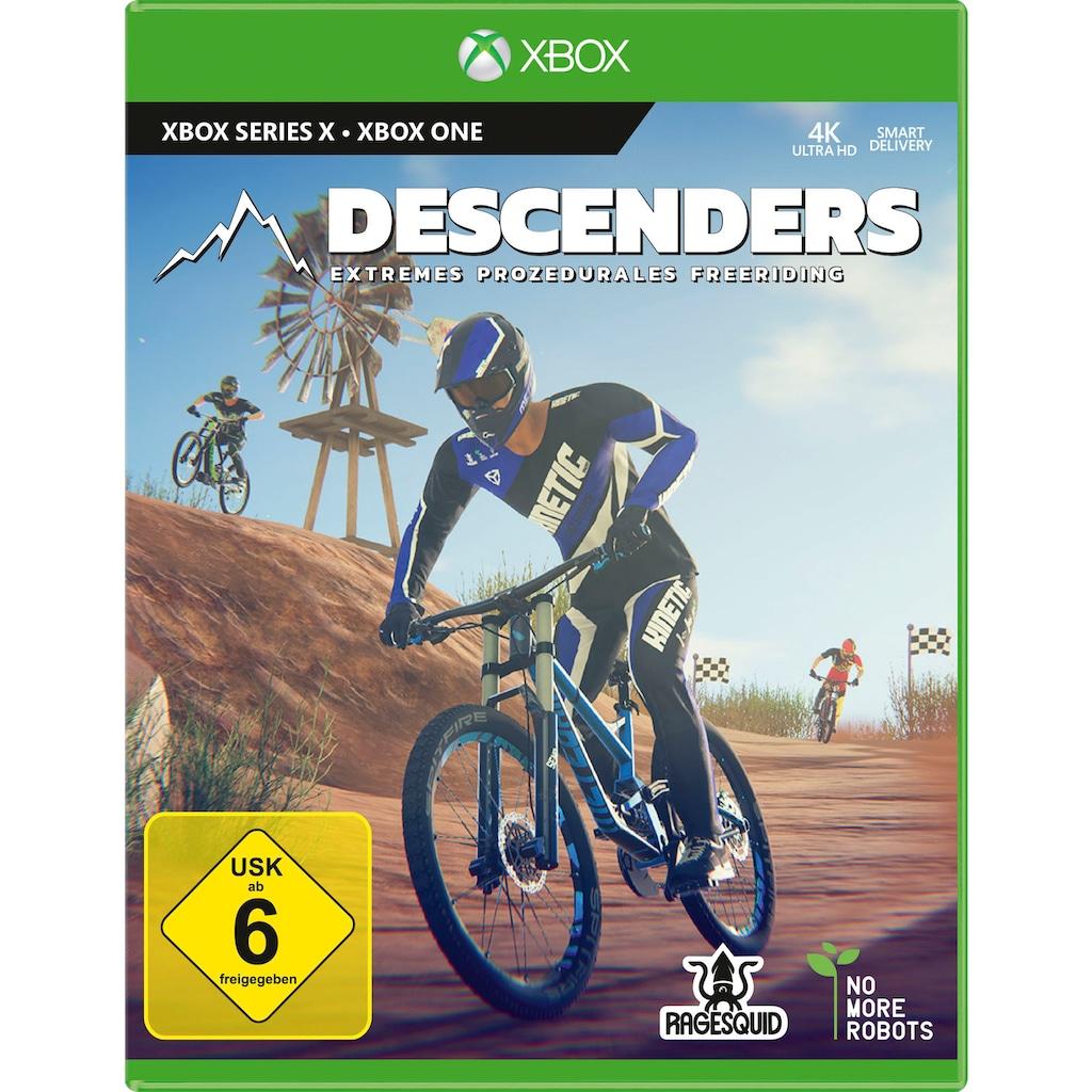 Xbox One Spiel »Descenders«, Xbox Series X