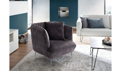Villeroy & Boch Sessel »ELLA«, Füße Chrom glänzend kaufen