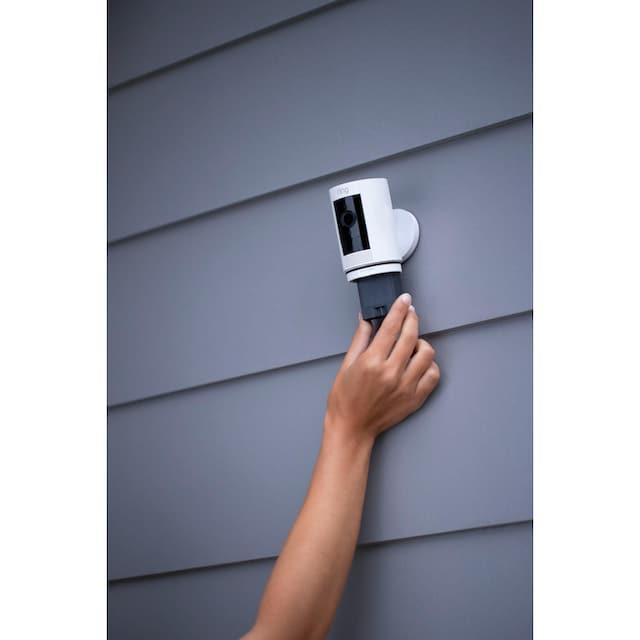 Ring »Stick Up Cam Battery - White Gen 3« Smart Home Kamera, Außenbereich, Innenbereich