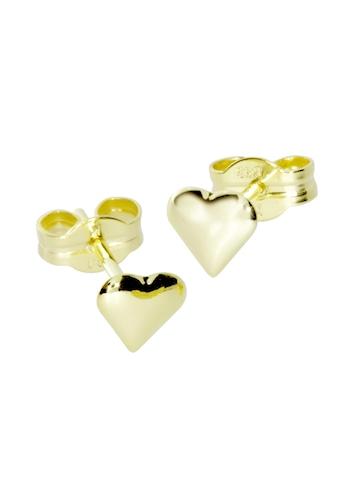 OSTSEE-SCHMUCK Paar Ohrstecker »- kleines Herz - Gold 333/000 -,«, (2 tlg.) kaufen