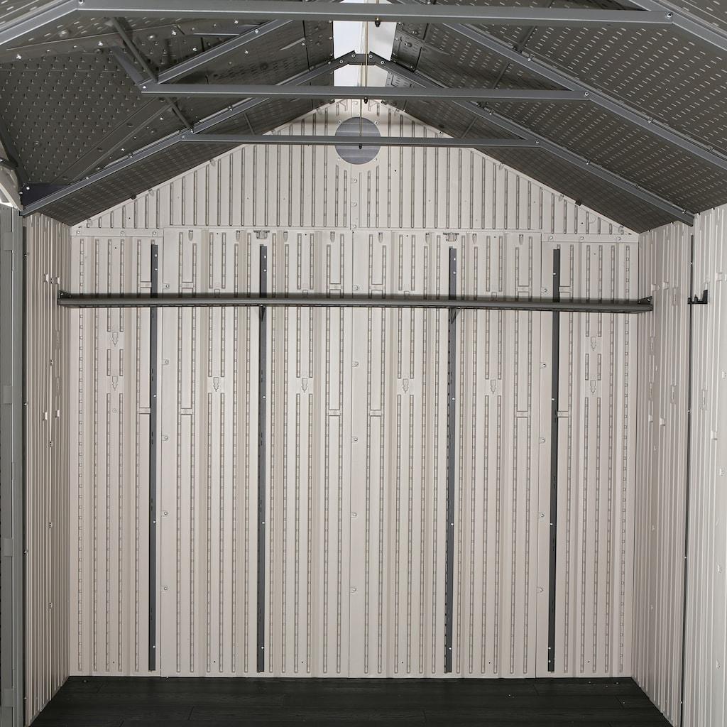 Lifetime Gerätehaus »Texas«, inkl. Fußboden, Regale und Werkzeugtasche